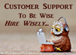 Customer Support Specialist Hiring a Priority