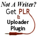 Get PLR and Uploader WordPress Plugin